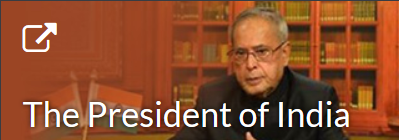 President of India Web Portal
